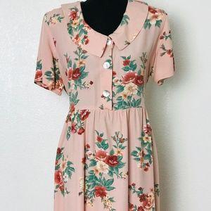 Floral Dress Size 18